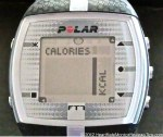 Polar FT7 HRM Menu Calories
