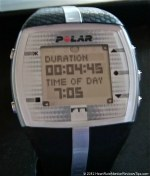 Polar FT7 Heart Rate Monitor Menu Duration