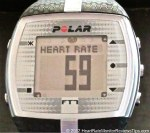 Polar FT7 HRM Menu Heart Rate