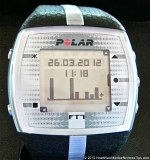 Polar FT7 Heart Rate Monitor Menu Weekly Bar-Graph
